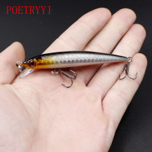 1Pcs crank float swing bait 9cm 6g Souple Iscas Artificiais laser hard Wobblers Pacas bass fishing lures