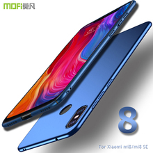 For Xiaomi mi8 case cover MOFI Xiaomi Mi 8 SE Hard PC Back Cover Case for xiaomi mi 8 Lite/8X Full Cover mi 8 Pro Frosted Case leather case for xiaomi mi pad 4 mipad4 8 inch tablet case stand support for xiaomi mi pad4 mipad 4 8 0 case cover two style