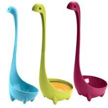 Spoon Dinosaurio Kitchen Dinosaur Spoons Soup Loch Ness Ladle Long Handle Creative Modeling