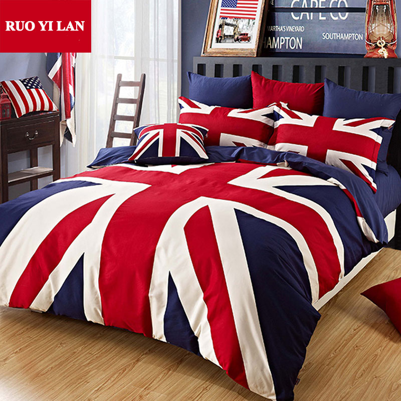 Online Get Cheap Union Jack Bedding Aliexpress Com
