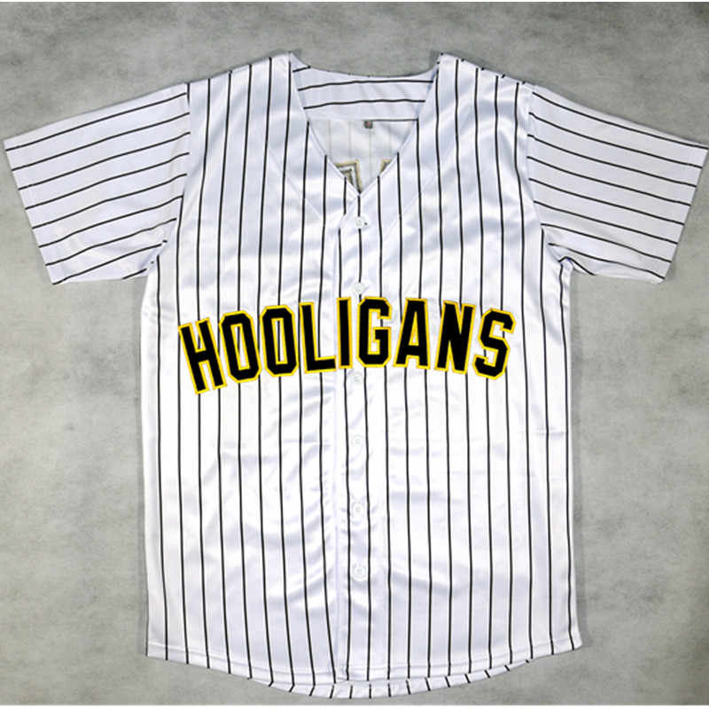 Bruno Mars T shirt #24 24K Hooligans Pinstriped BET Awards MAN Stitched Button Down Mens T-Shirt camisetas hombre tshirt