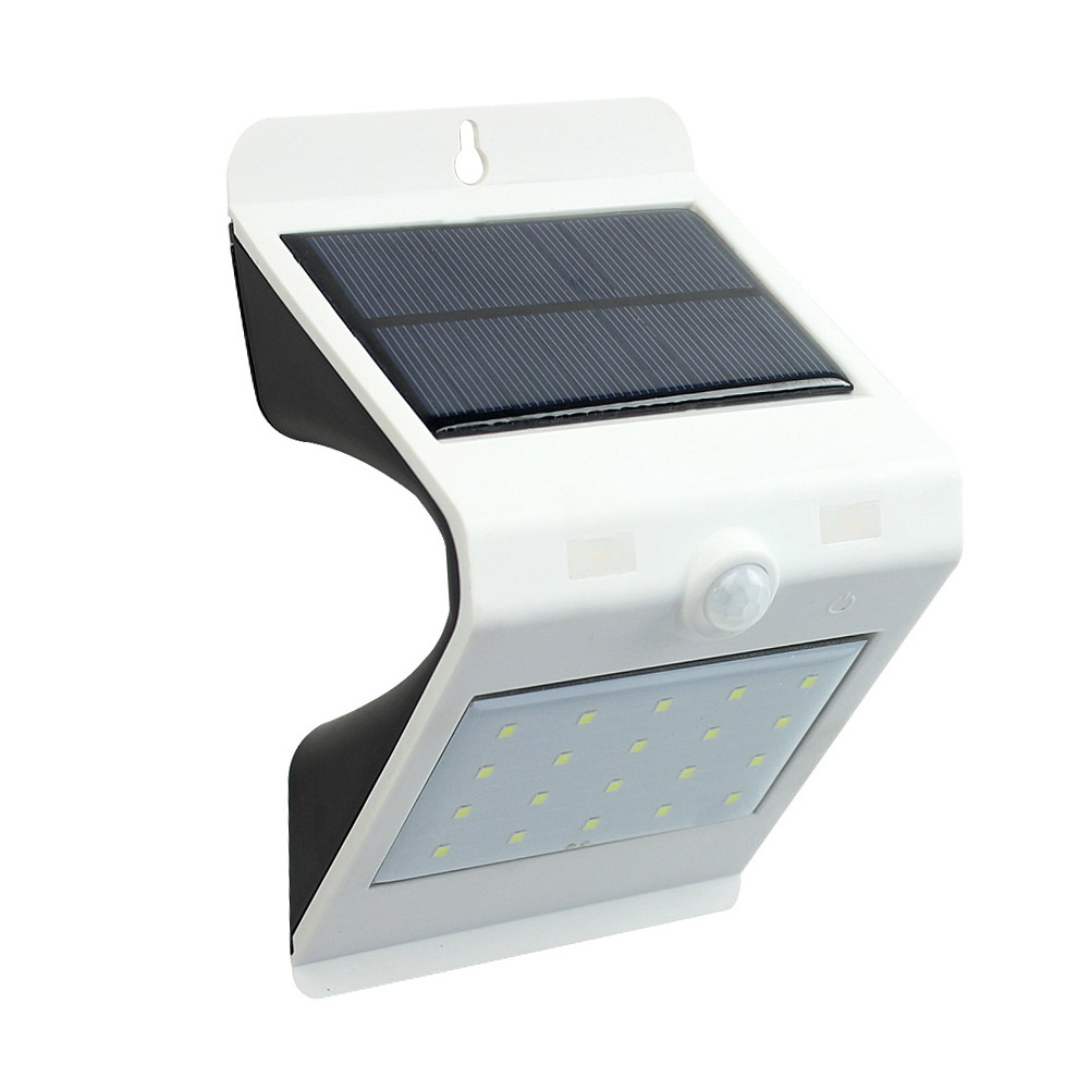 Fashion Wall Light LED Solar Power Motion Sensor Outdoor Waterproof Security Energy Saving Lamp For Home Street Garden C