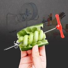 Recordarme ручной роликовый спиральный слайсер редиска инструменты для приготовления картофеля Овощной спиральный резак кухонные принадлежности, фрукты инструменты для резьбы