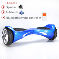 6 5 Inch Two Wheel Self Balancing Electric Scooter With Bluetooth APP Standing Drift Board Bodying