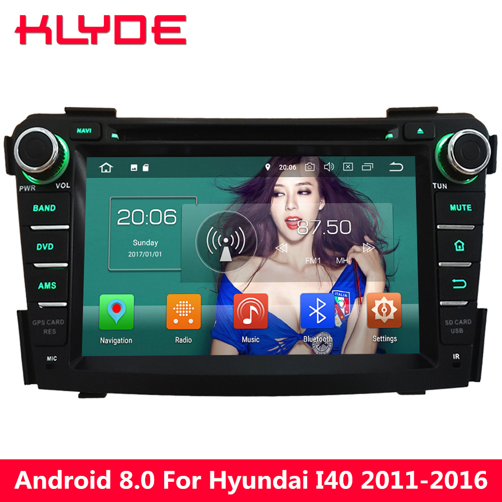 KLYDE HD 7 4G WIFI Android 8.0 Octa Core 4GB RAM+32GB ROM PX5 BT Car DVD Multimedia Play ...