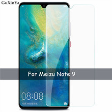 2pcs Tempered Glass Meizu Note 9 Screen Protector For Anti-scratch Protective Front Film