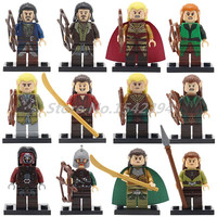 Wholesale 20pcs Lot Super Heroes Mines Of Moria The Hobbit Lord Of Rings Building Block Elrond