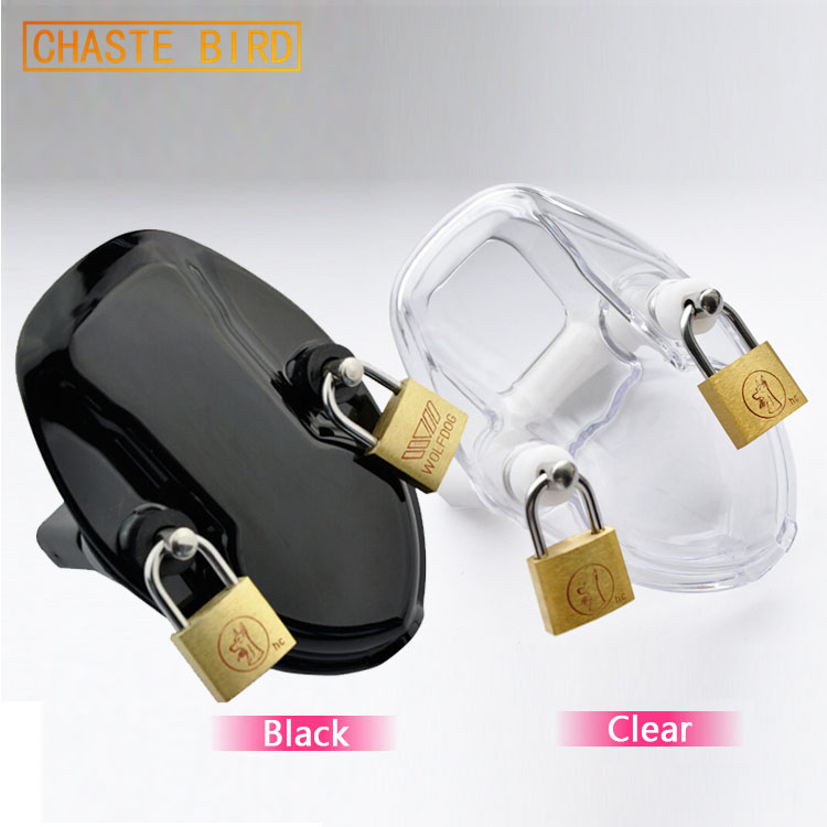 Clear Silicone Adult Sex Toys penis male chastity belt lock A122 zeus watch