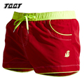 TQQT mens board shorts loose beach bermuda shorts low elastic waist breathable short solid trunks boxers 3 colors 5P0465