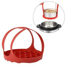 Silicone Steamer Vegetable Food Steamer Basket Kitchen Tools Bakeware For Cooking Food Steamer Basket Steam Tray цена и фото