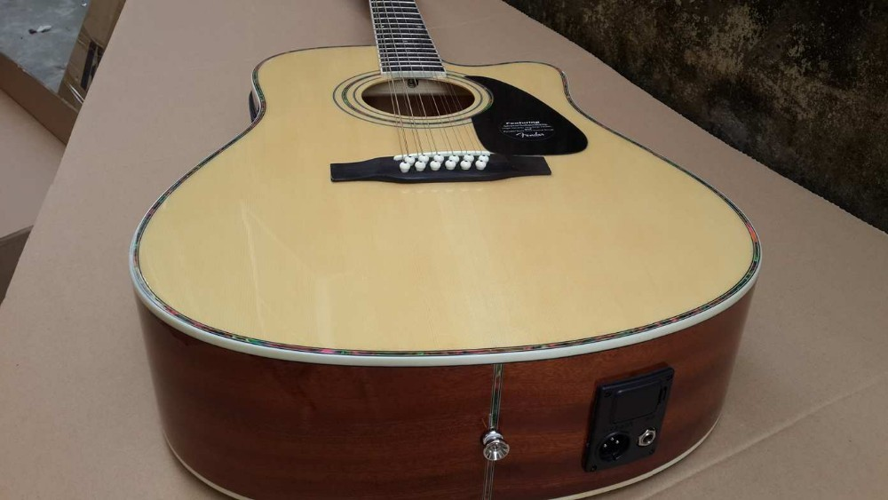 12 string acoustic electric guitar with tuner 5band lcd eq in guitar from sports entertainment. Black Bedroom Furniture Sets. Home Design Ideas