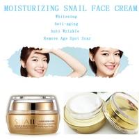 ONE SPRING Brand Moisturizing Snail Face Cream Whitening Anti-aging Anti Wrinkle  Remove Age Spot Scar Gel  Day & Night Cream Skin Care