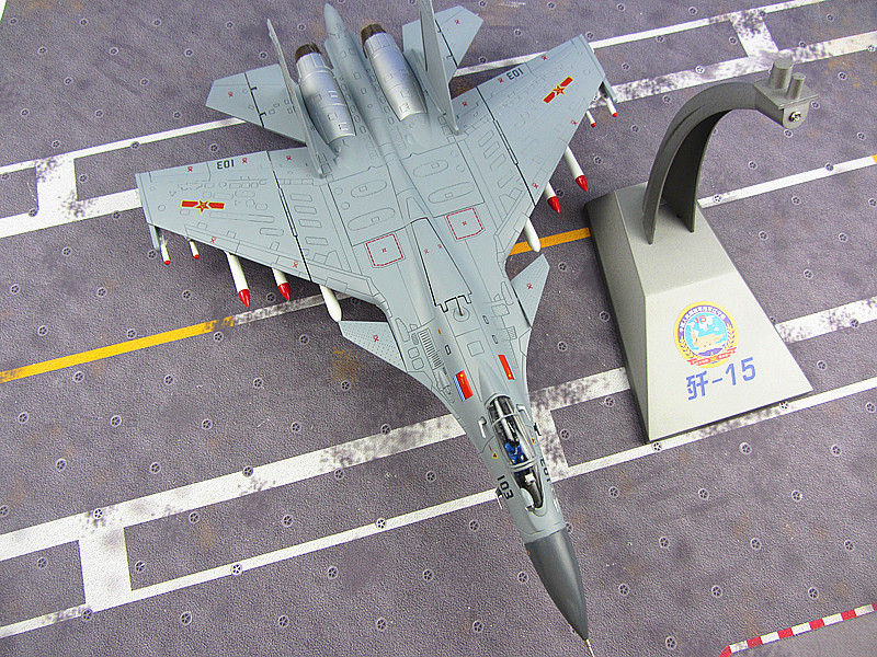 J-15 aircraft carrier aircraft model J15 fighter simulation model of 1:48 military products Chinese Airforce CPLA цены