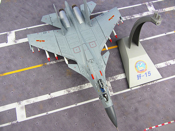 J-15 aircraft carrier aircraft model J15 fighter simulation model of 1:48 military products Chinese Airforce CPLA