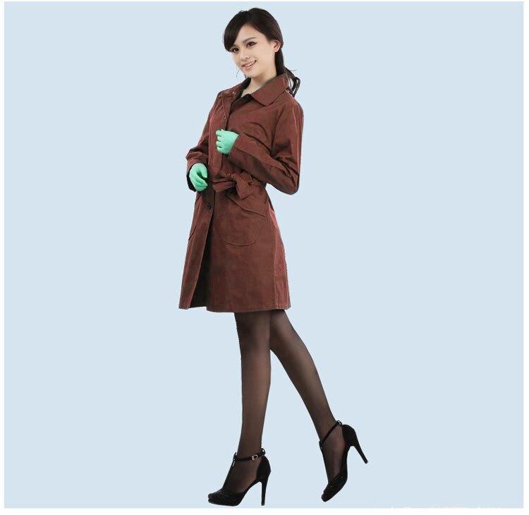 Fibre d'argent haute protection personnalisée pour les femmes coupe-vent, costumes de protection contre les rayonnements familiaux et professionnels, vêtements de protection EMF
