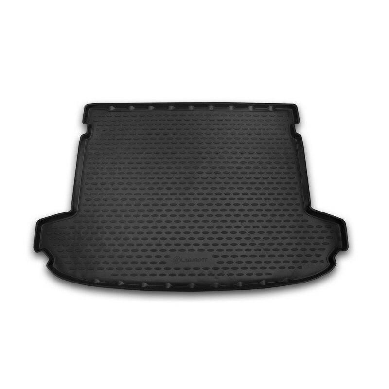 Mat rear trunk lid cover trim For KIA Sportage, 2016->, cross... 1 PCs (polyurethane)