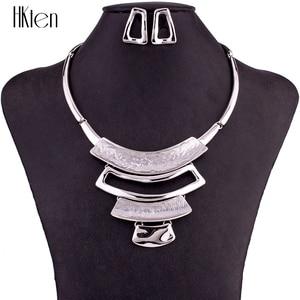 Image 1 - MS1504858 Fashion Alloy Sieraden Sets Milieuvriendelijke loodvrij en nikkelvrij Vrouw Ketting Earring Sets Hoge Kwaliteit