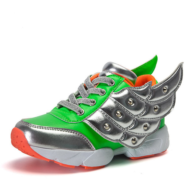 Kids Walking Shoes PU Rivet Shockproof Breathable Nonslip Sport Kids Sneakers Boys Girls Cute Shoes Spring Autumn Online Stores