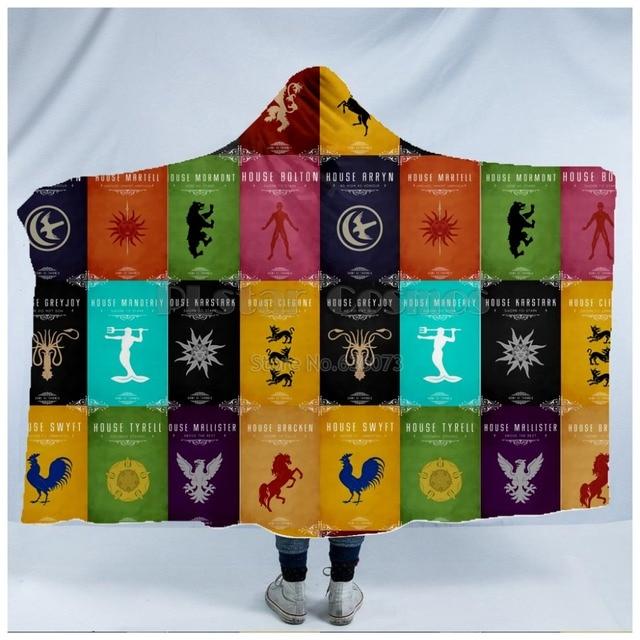 Game of Thrones Blanket  Hooded Blanket 2