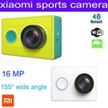 Original Xiaomi xiaoyi sport  sports camera xiao yi mini camera 16MP waterproof 1080P 1010mAh battery