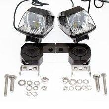 20 Вт 2000LM CE мотоцикл водостойкая противотуманная фара в сборе ATV автомобиль мото DC 9-В 85 светодио дный светодиодный головной свет Прожектор с В 5 В/2A USB зарядное устройство