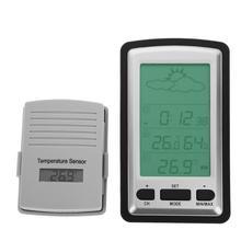 Buy online Mini LCD Digital Thermometer Hygrometer Temperature Indoor Convenient Temperature Sensor Humidity Meter Gauge Instruments
