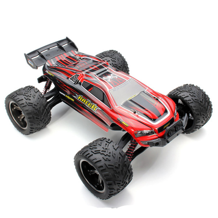 New Arrival 9116 1 / 12 Scale 2.4G 4CH Truck 2 - Wheel Driven Electric Racing Brushed Monster Car With 9.6V 700MA  Battery