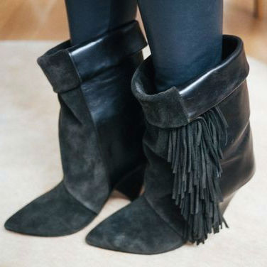 Popular Grey Fringe Boots-Buy Cheap Grey Fringe Boots lots from ...
