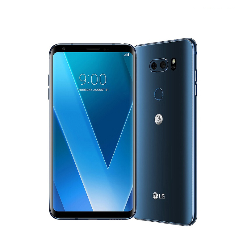 """Разблокированный LG V30 4 Гб ОЗУ 64 Гб/128 Гб ПЗУ 6,"""" полный экран Qualcomm835 Восьмиядерный двойной задней камеры(без ивритского языка"""