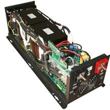 Чистая Синусоидальная волна 5000 Вт DC 12 В в AC 220 В 5000 Вт/5 кВт инвертор высокой мощности для кондиционирования воздуха/холодильника/насоса инвертор работает 5000 Вт