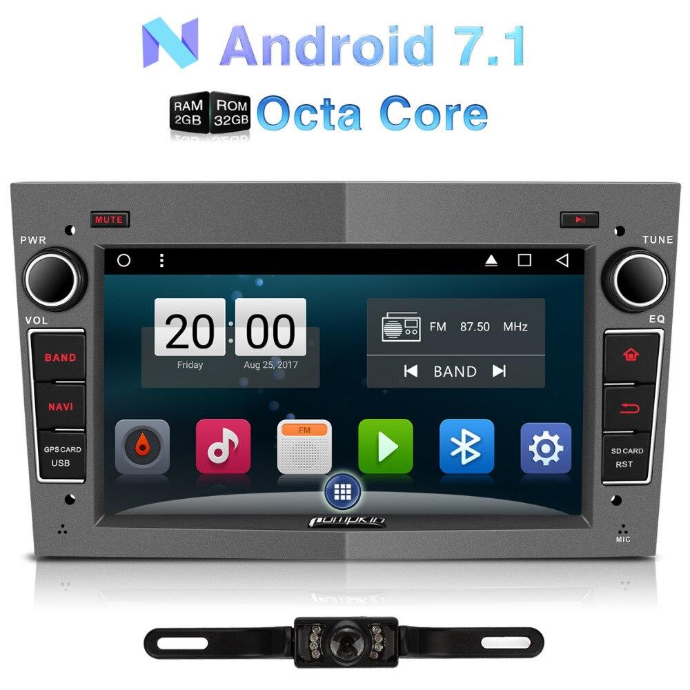 Тыквы 2 DIN 7 &#8221;Android 7.1 автомобиль Радио нет dvd-плеер GPS навигации <font><b>Bluetooth</b></font> стерео для Opel/ vectra/Corsa Wi-Fi 3G головного устройства