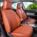 Assentos de carro para Infiniti qx56/qx80 assento de couro PU covers & suporta acessórios set front & rear conjunto tampa de assento do carro auto almofadas