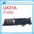 Para asus ux31a ux31a2 placa madre del ordenador portátil mainboard con intel core i7 cpu probado completamente garantía de 60 días