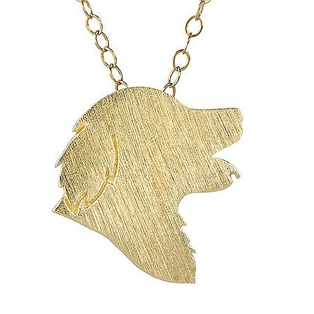Golden Retriever Charm Golden Retriever Jewelry Silver Dog Necklace