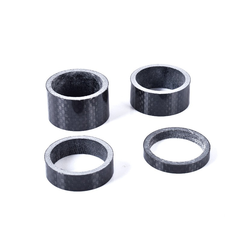 Carbon Fibre Glossy Headset Spacers 12