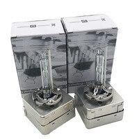 Новый комплект из 2 предметов HID ксеноновая лампа D3S D1S D2S D2R D4S D4R 4800 K Ксеноновые лампы фар авто Замена лампы спереди автомобиля укладки