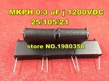 10pca MKPH 0.3 uF j 1200VDC 25/105/21