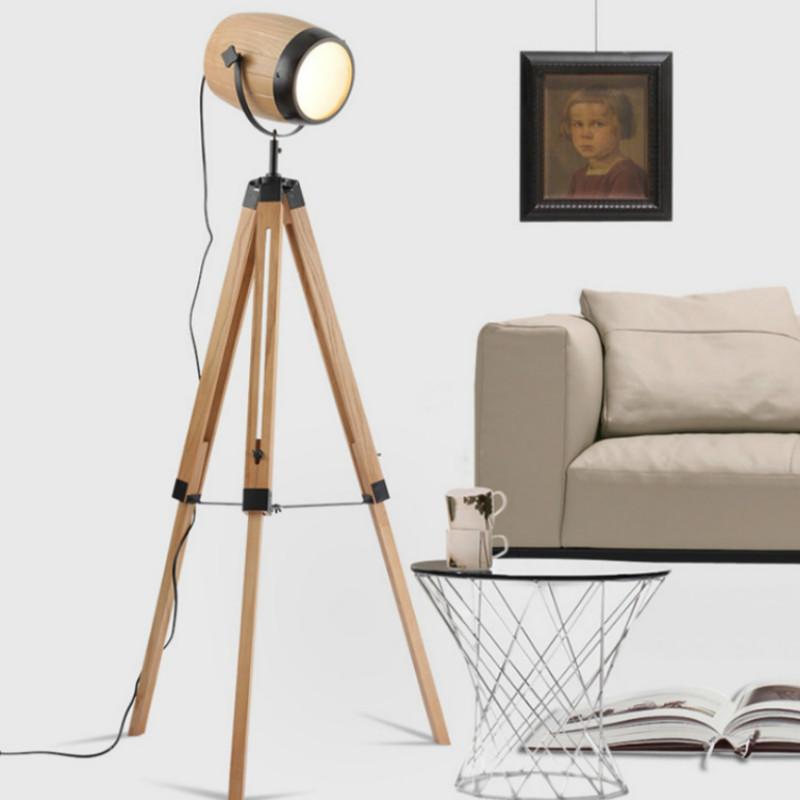 Moderne Kreative Nordic Handgefertigte Original Holz Eisen Fhrte E14 Stehleuchte Fr Wohnzimmer Schlafzimmer Fotostudio 80