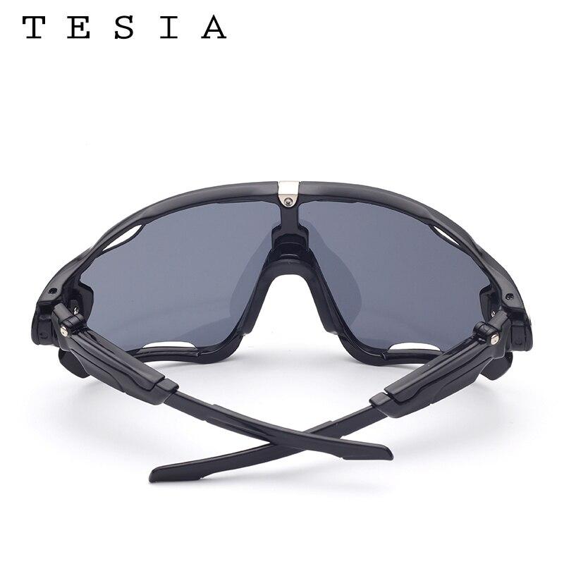 TESIA Markendesigner-Sonnenbrille-Mann-Spiegel-Gläser für das - Bekleidungszubehör - Foto 6