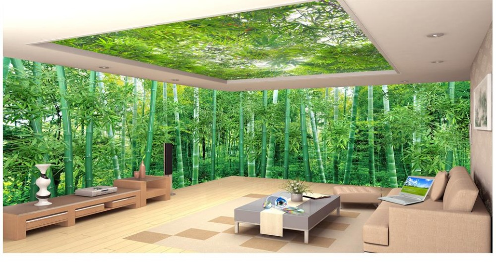 Custom 3d Nature Mural Wallpaper Nature Scenery For Walls: 3D Wall Murals Wallpaper Custom Picture Huge Panoramic