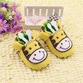 Zapatillas de bebé infantil sapatos chaussures fille de estampados de animales jirafa vaca lechera flor zapatillas scarpe ragazzo ninas 0-18 m