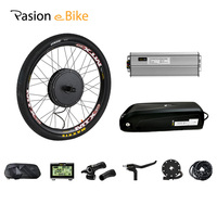 Electric Bike Conversion Kit With Battery 52v 12.8ah Electric Bike Kit 1500W 48V Electric Motor Wheel and 52V Battery e Bike Set