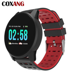 COXANG Wearfit Smart Watch W1 For Men Blood Pressure Heart Rate Fitness Tracker Pedometer Man Sport Smartwatches For Android IOS