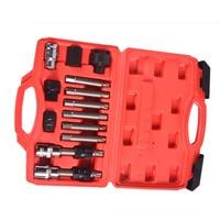 Пакет из 13 удобный практичный прочный автомобиль генератор шкив набор инструментов удаления для автомобиля