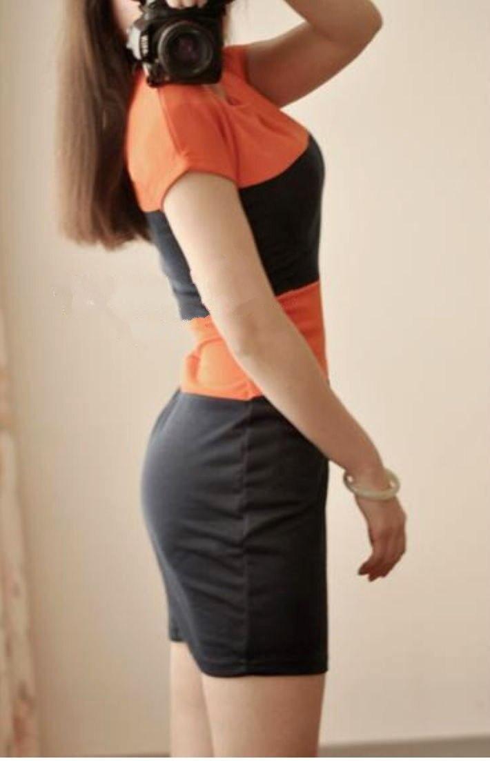 Цвет: короткие оранжевые