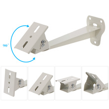 Metal Wall Ceiling Mount Stand CCTV Bracket with Adjustable Angles for Surveillance IP AHD Analog Camera Security System