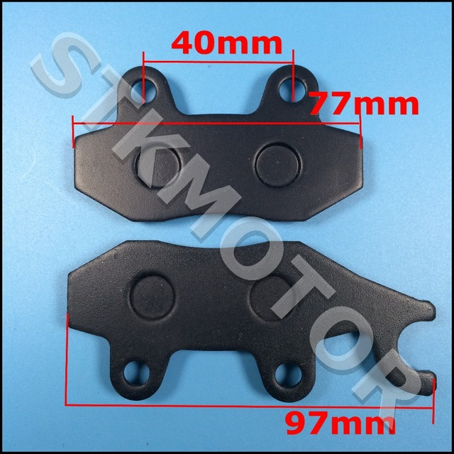 US $8 99 |Brake pads for yerf dog spiderbox 150cc gx150 go kart yerf dog-in  ATV Parts & Accessories from Automobiles & Motorcycles on Aliexpress com |