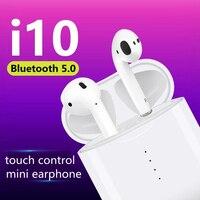 Wearpai I10 TWS Mini Bluetooth Headset 5 0 Wireless Earbuds Sport Touch  Control Bluetooth Eraphone For b55c9d383550