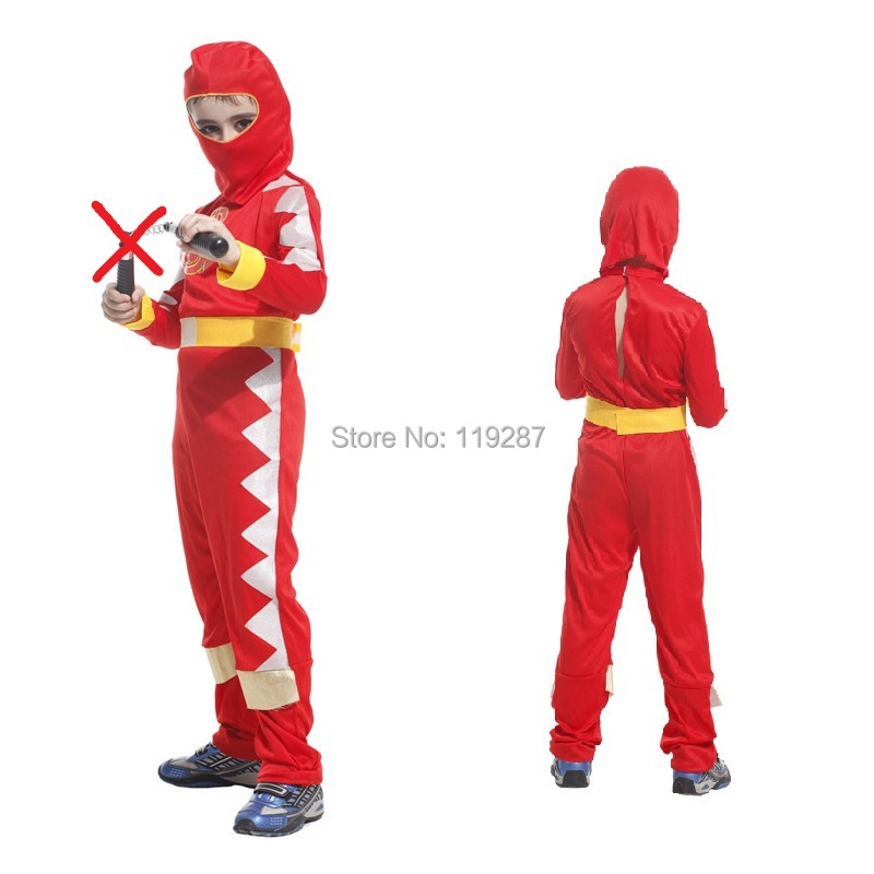 Christmas Halloween children red ninja cosplay costume boy kids dragon clan clothing sets handsome soldier-in Boys Costumes from Novelty u0026 Special Use on ...  sc 1 st  AliExpress.com & Free shipping!! Christmas Halloween children red ninja cosplay ...