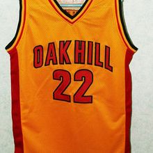 f8ccab1f861  22 CARMELO ANTHONY Oak Hill High School teamThrowback Mens Basketball  Jersey Embroidery Stitched Customize any